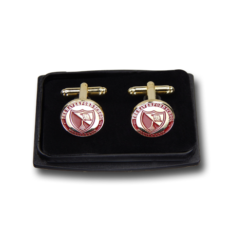 Clear Top Cufflinks 5/8